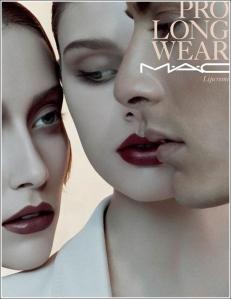 MAC Pro Longwear lipcreme promo