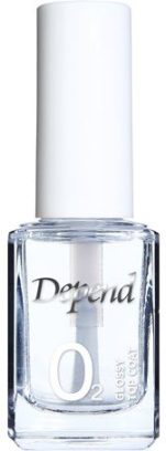 depend o2 glossy top coat